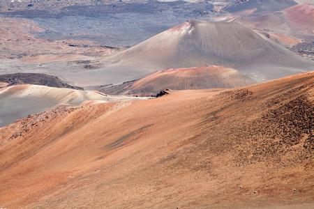 maui: Pink hills in Haleakala National Park, Maui, Hawaii.