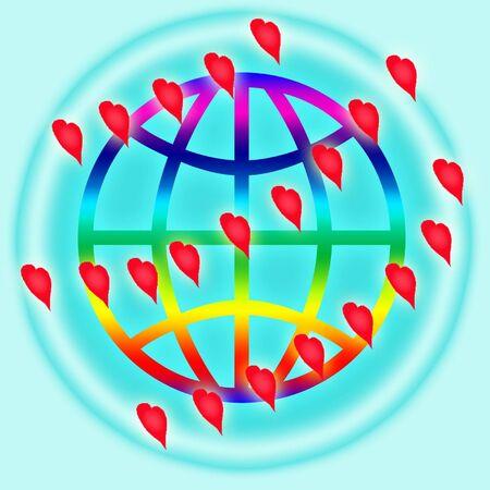 globus: Icon for internet