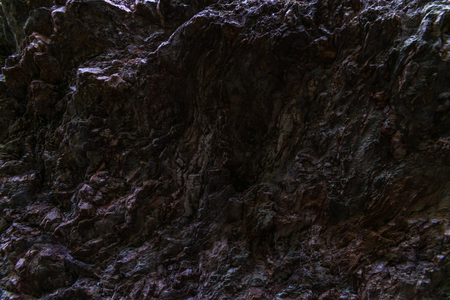 interesting textura with stone rocks, beautiful background, rock wall, ragged stone, mineral material Archivio Fotografico