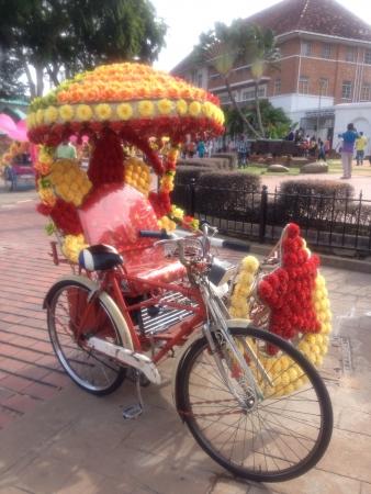 trishaw: Malacca trishaw
