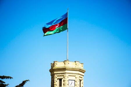 Azerbaijan national muslim flag Baku. National Azerbaijanian flag. Muslim country. Azerbaijan flags culture. Flags waving wind Azerbaijan. Azerbaijanian Flag stand. Muslim flag. Muslim star flags arab