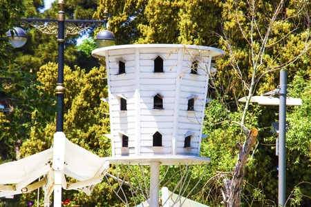 Garden Decor Birdhouses bring nature to your home and add a nice decoration and design for your garden.