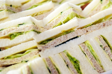 Sandwiches in a Pile photo