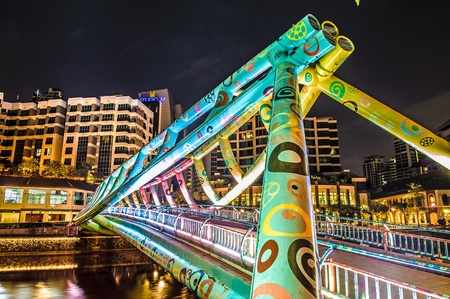 Art Bridge at Robertson Quay