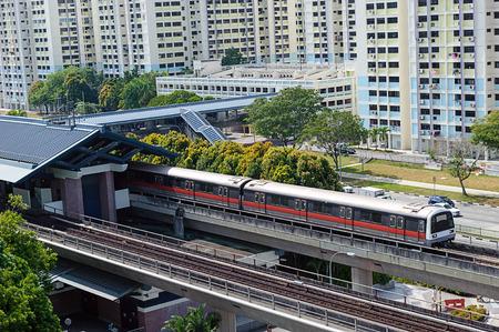 transit: Singapore Mass Rapid Transit MRT Train Travel