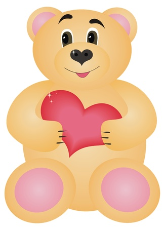 Cute bear  Stock Photo