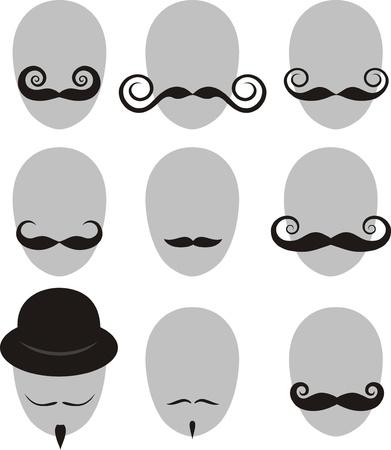 bouliste: Moustaches et la barbe ensemble