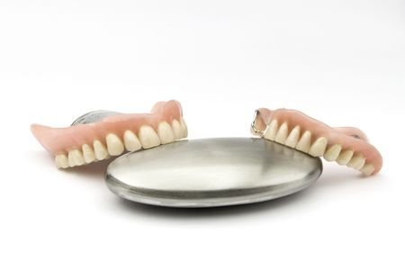 removable: Dental removable prosthesis  with metal Object