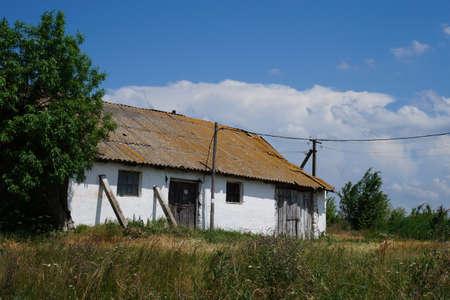 An old building that collapses. Reklamní fotografie