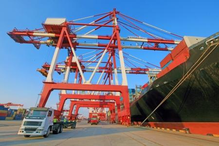 Chine Qingdao Port Container quai de chargement