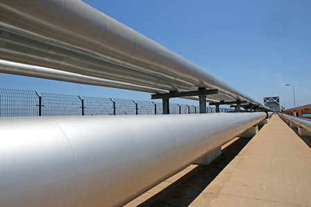 For the transport of oil and gas pipelines photo