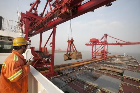 shipping port: Ore terminal