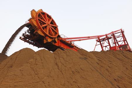 installed: Ore stockpiles installed