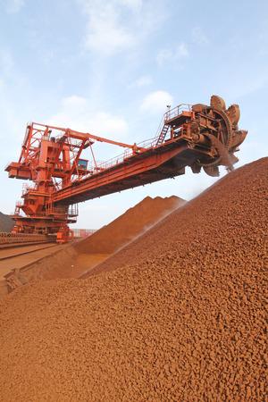 iron ore: Iron ore terminal