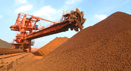 conveyors: Iron ore terminal