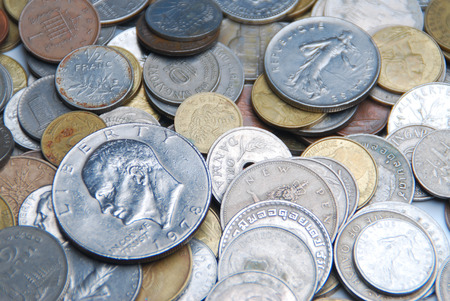 miscellaneous penny from arround the world photo