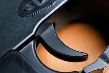 gatillo: Dispare la pistola en cerca disparar