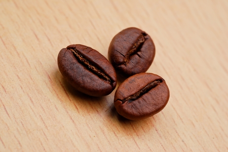 capucinno: Close Up and macro shoot of coffee bean