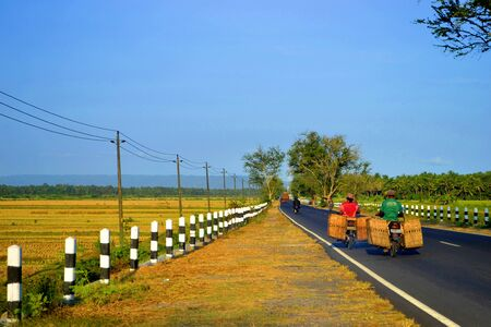 yogyakarta: Street view in Yogyakarta Editorial