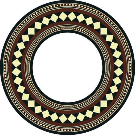 Chinese traditional diamond pattern circular
