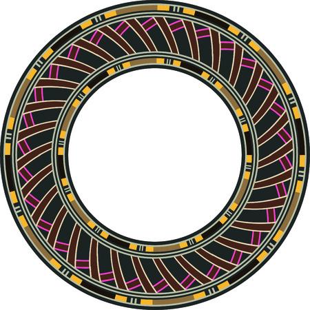 Classical traditional circular pattern Bohemian wind