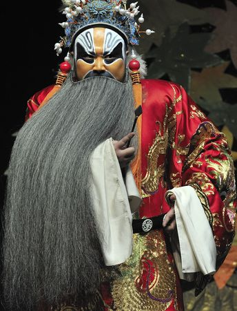 Zhejiang Kunqu Opera Theater of china perform Gongshunzidu at Jinsha theater October 26, 2008 in Chengdu, China. Stock Photo - 8151482