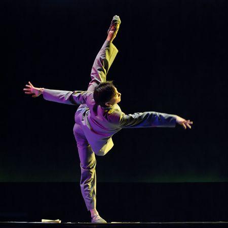 CHENGDU - DEC 11: Beijing Dance Academy perform Solo dance  Stock Photo - 8161120