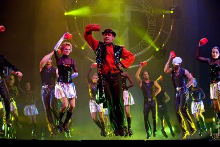 dance drama: CHENGDU - OCTOBER 25: Modern dance show