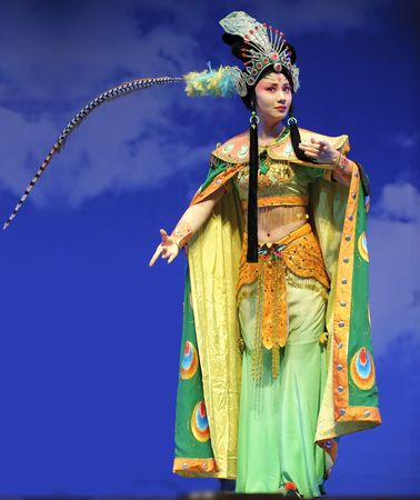 CHENGDU - Jul 23: Chinese opera  Stock Photo - 8161149
