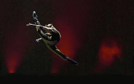 danza moderna: CHENGDU - 13 de DEC: Grupo de danza  Editorial