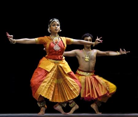 CHENGDU - OCT 24: Indian folk dance  Stock Photo - 8185458