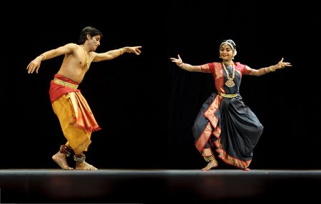 CHENGDU - OCT 24: Indian folk dance  Stock Photo - 8185466