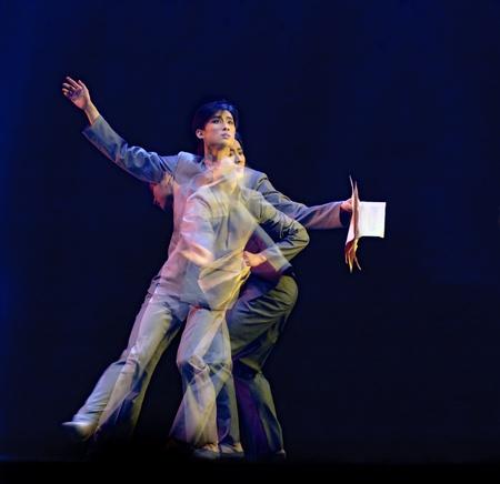 CHENGDU - DEC 20: Beijing Dance Academy perform Solo dance  Stock Photo - 8321845