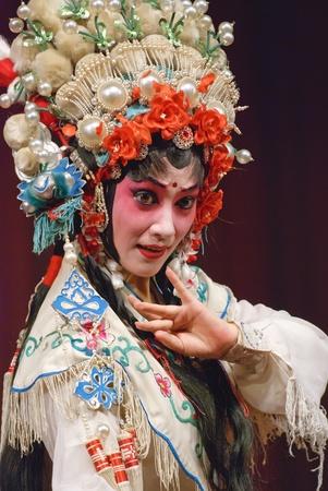 pretty chinese opera actress Stock Photo - 8430517