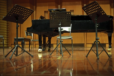 classical concert stage photo