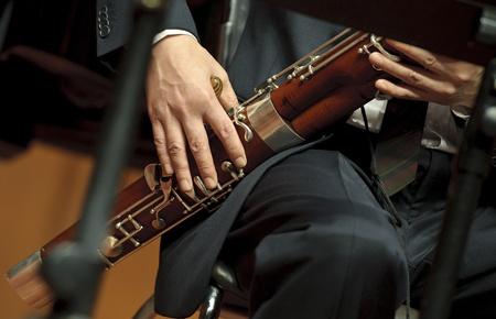 fagottista sul concerto di musica da camera
