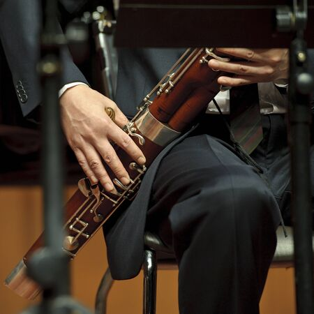 bassoonist on concert Stock Photo - 8455560