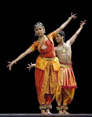 CHENGDU - OCT 24: Indian folk dance