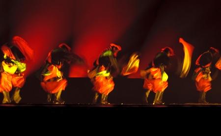 CHENGDU - DEC 11: Group dance