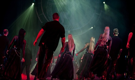 CHENGDU - OCT 25: The famous Hungarian modern dance drama