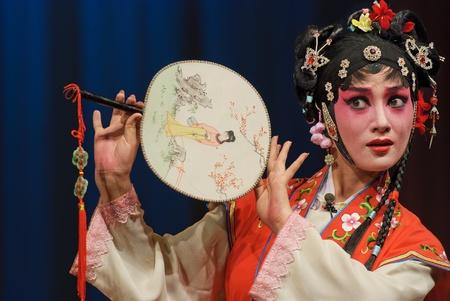 pretty chinese opera actress Stock Photo - 8471002