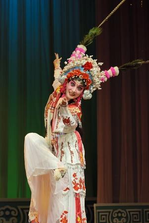 pretty chinese opera actress Stock Photo - 8470998
