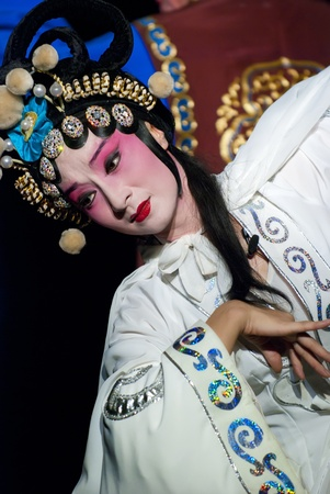 pretty chinese opera actress Stock Photo - 8478114