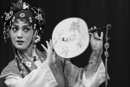 pretty chinese opera actress Stock Photo - 8478106