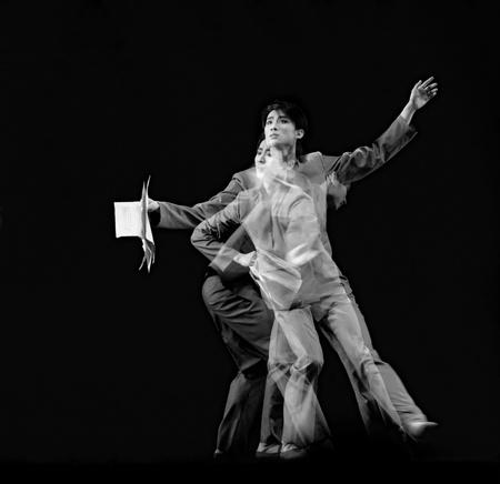 a long poem: CHENGDU - DEC 20: Beijing Dance Academy perform Solo dance Poem of long river at JINCHENG theater in the 7th national dance competition of china.Dec 20,2007 in Chengdu, China. Choreographer: Xiao Xiangrong, Chang Xiaoni, Cast: Sun Rui