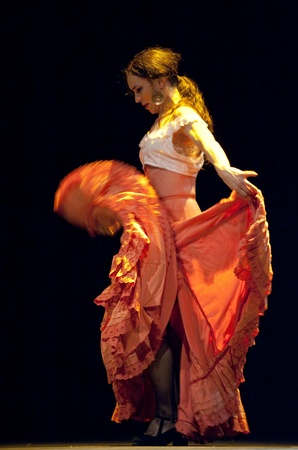 CHENGDU - DEC 28: The Best Flamenco Dance Drama