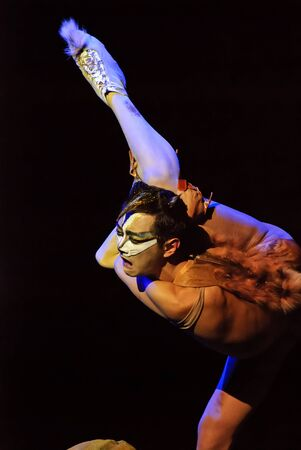 CHENGDU - DEC 10: Solo dance