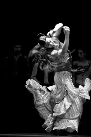 CHENGDU - DEC 28: Flamenco Dance Drama