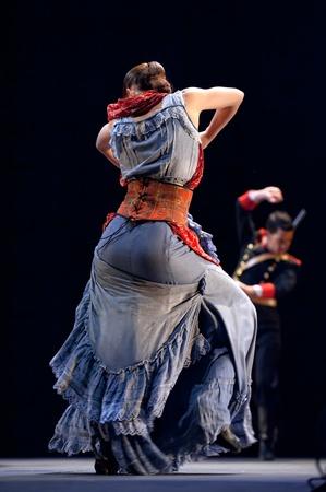 CHENGDU - DEC 28: The Best Flamenco Dance Drama