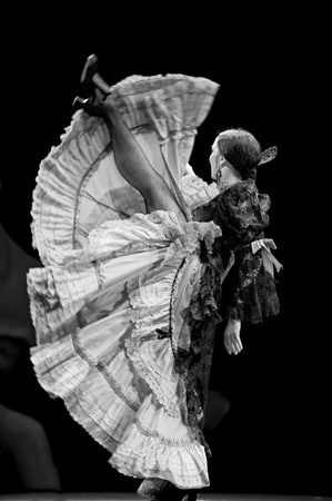 rafael aguilar: The Best Flamenco Dance Drama Carmen performed by The Ballet Troupe of Spanish Rafael Aguilar(The Ballet Teatro Espanol de Rafael Aguilar) at JINCHENG theater DEC 28, 2008 in Chengdu, China. Editorial